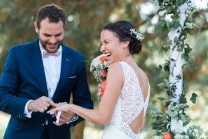 mariage à la Bastide de Jaillans