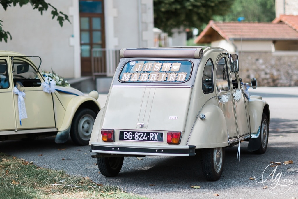 just married voiture