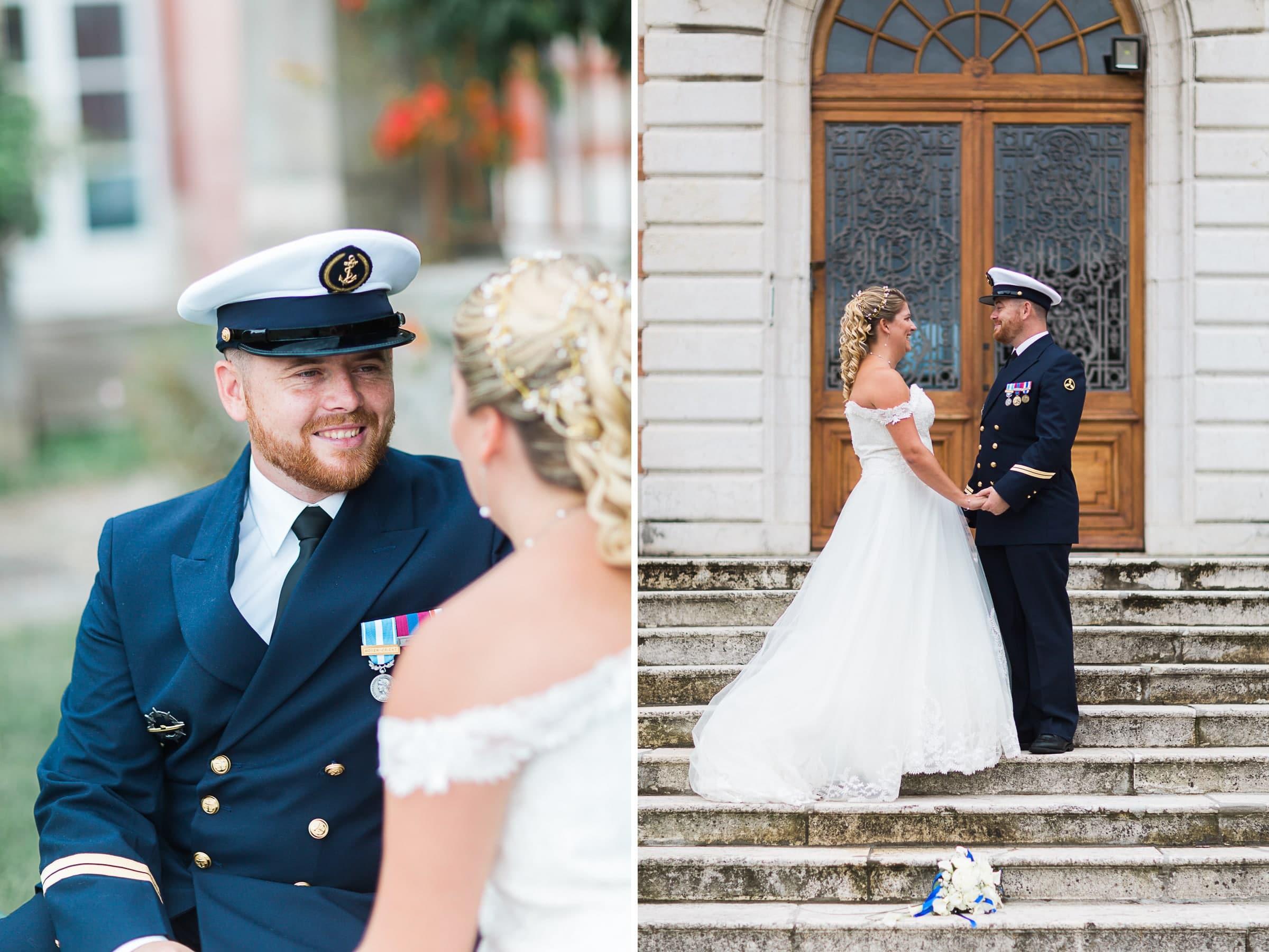 mariage de marin