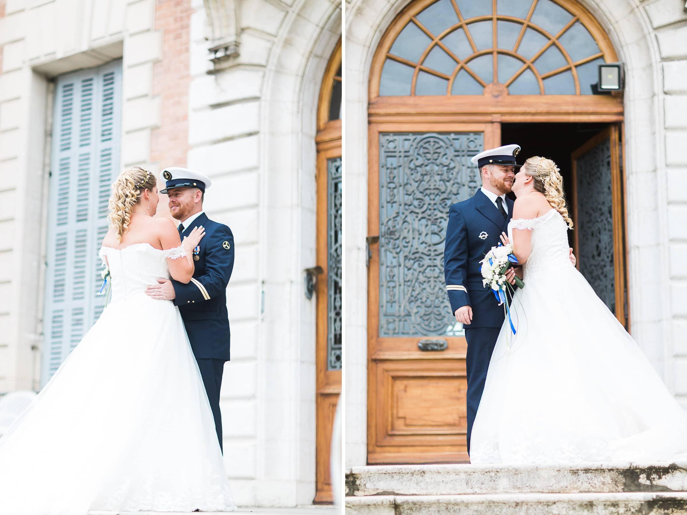 mariage à vinay